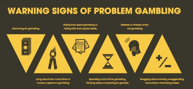 gambling addiction signs