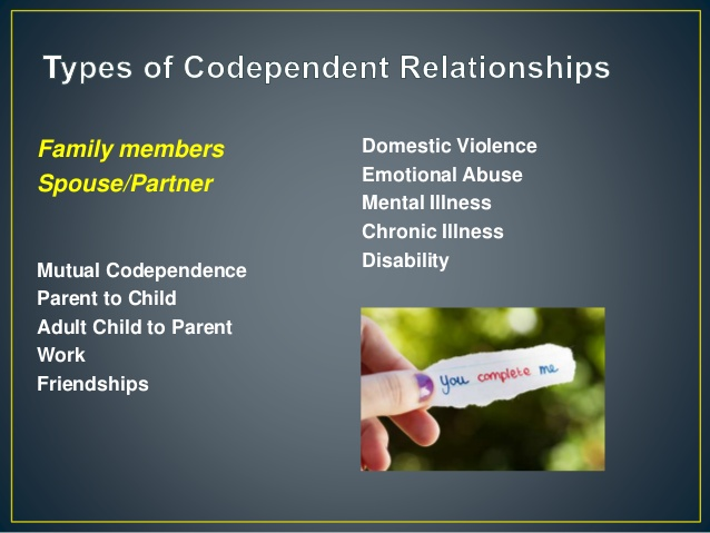 Codependent relationships